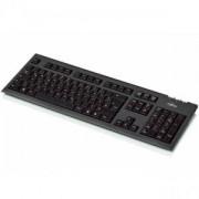 Mултимедийна клавиатура KB410 black, тънка, PS/2,Фуджицу