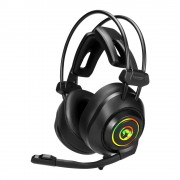 HEADPHONES, Marvo HG9056, Gaming, 7.1, RGB, Microphone, Black