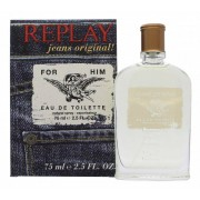 Replay Jeans Original Him Eau De Toilette 75 Ml