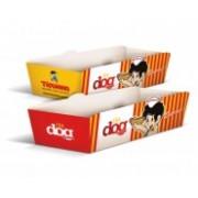 Embalagens - Cachorro Quente - Hot Dog Supremo 300g Sem Verniz 26,691x14,741 - 4x0 - Quantidade: 1000