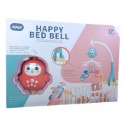 Ladida Fjärrstyrd Sängmobil Happy Bed Bell - Rosa