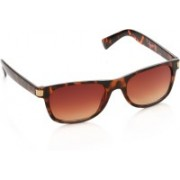 Louis Philippe Rectangular Sunglasses(Brown)