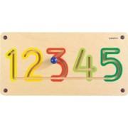 Aplicatie de perete Numere 1-5
