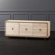 Lara Acacia Low Dresser by CB2