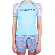 69SLAM Dámské tričko 69SLAM modré (GRVFCK-PA) M