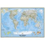 Magneetbord 84M Wereldkaart, politiek, 176 x 122 cm | National Geographic