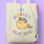Fuzzballs Fuzzballs Totebag - My meowgical bag of things