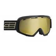 Masque de ski Salice 609 DARWFV NERO/RW ORO