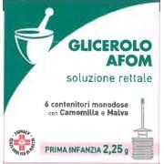 > Glicerolo Afom*6cont 2,25g