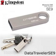 Memoria USB Flash Drive 16GB KINGSTON SE9 Plata