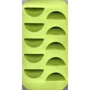 Stampo silicone. spicchi d'arancia