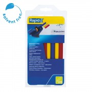 Baton silicon profesional Rapid Universal color (rosu, galben, albastru), O12mm x 190mm, baza EVA, 250g blister 24941400