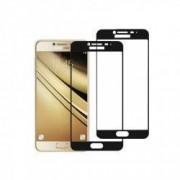 Set 2 folii protectie sticla securizata fullsize pentru Samsung Galaxy C5 / C5 Pro negru