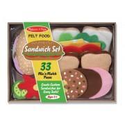 Melissa & Doug 3954 Felt Food-Sandwich Set