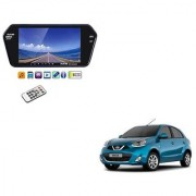 7 Inch Full HD Bluetooth LED Video Monitor Screen with USB and Bluetooth For Nissan Micra