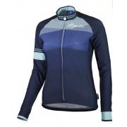 melegítő női jersey Rogelli STEL LE hosszú ujj, kék 010.144.