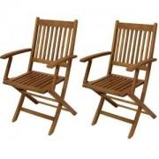 Express Benita houten tuinstoel set van 2 stuks