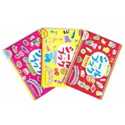 Educational Seal Book Learn While Playing, Bilingual ?Japanese/English Made In Japan 3 Packs ?Zoo/Shopping/Delicious Food A Total Of 407 Seals by Pilot