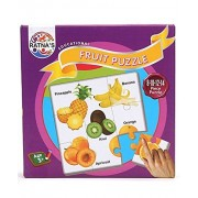 Ratna's educational fruit jigsaw puzzle for kids to enhance their knowledge about fruit and teach your kids about fruits. this is a 8-10-12-14 pieces puzzle