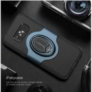 IPAKY Samsung Galaxy S8 Plus gyűrűs tok - KÉK