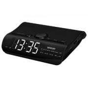 Sencor SRC140B fekete rádiós ébresztő óra
