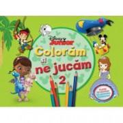 Disney Junior. Coloram si ne jucam Vol. 2 . Planse de colorat cu activitati distractive