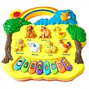 OH BABY BABY Baby farm animal piano with real animal sound piano sound LED flash Light FOR YOUR KIDS SE-ET-590