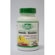 Bromelaina Forte - complex enzimatic proteolitic, antiinflamator si potentator bio-absorbtie