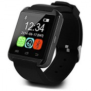 SCORIA Bluetooth Smartwatch U8 BLACK With Apps Compatible with Lenovo K8 Plus