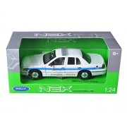 Welly 22082CG 1999 Ford Crown Victoria Chicago Police Car 1-24 Diecast Car Model