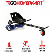 GoMonster Hoverkart Carbon Black