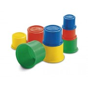 Fisher Price- 8 Bulding Beakers Stacking Blocks Cups