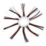 XH5P balancea el alambre recargable del silicon del paquete de la bateria de litio (10 PC)