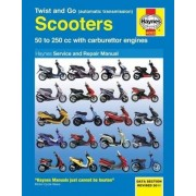Haynes Twist And Go (automatische overdracht) Scooters Service And R