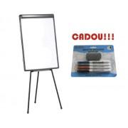 FLIPCHART MAGNETIC START 70x100 cm + CADOU!!! (SET 4 MARKER WHITEBOARD + BURETE) Aluminiu Flipchart Standard (trepied) 70x100 cm
