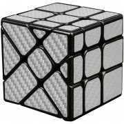 Cubo Magico Rompecabezas Magic Cube MF8830-Plata