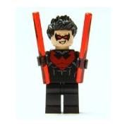 LEGO Batman DC Super Heroes Nightwing Minifigure (Red Version) 2014