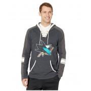 47 NHL San Jose Sharks Tahoe Lace-Up Hoodie Jet Black
