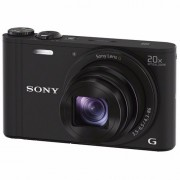 Sony compact camera DSC-WX350 (Zwart)