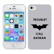 Husa iPhone 4S Silicon Gel Tpu Model Batman