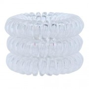 Invisibobble Power Hair Ring Ластици за коса за Жени Ластици за коса Нюанс - Crystal Clear