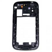 Оригинален среден панел за Samsung S5660 Galaxy Gio Черен