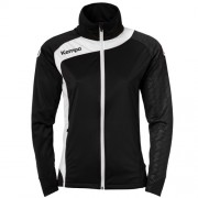 Kempa Damen-Trainingsjacke PEAK - schwarz/weiß | S