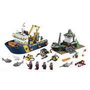 Building Block LEGO City (717pcs) Deep Sea Exploration Vessel Toy for Kids Figures