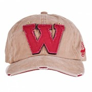 Unisex de moda W Gorra de beisbol de la vendimia - Caqui