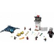 Set Constructie Lego Super Heroes Marvel Batalia De La Aeroport