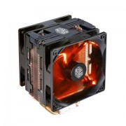 Cooler, Coolermaster Hyper 212 LED Turbo Black Top, AMD/INTEL (RR-212TK-16PR-R1)