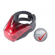 LED-Fahrradrücklicht mit Batteriebetrieb, zugelassen nach StVZO, IPX4   Fahrradlicht