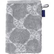 JOOP! Toallas Cornflower Guante de baño plata 16 x 22 cm 1 Stk.