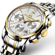 Heren Sporthorloge Militair horloge Dress horloge Modieus horloge Polshorloge Armbandhorloge Vrijetijdshorloge Japans KwartsKalender